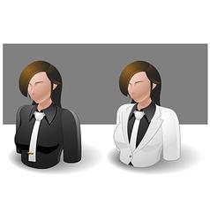 People Icons Women vector