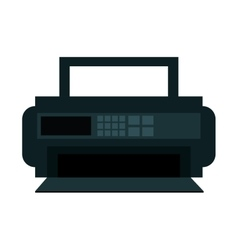 radio appliance isolated icon vector image