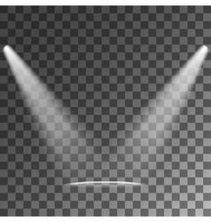 Spotlights Light Effects vector image vector image