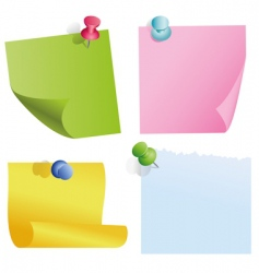 blank color items vector image vector image