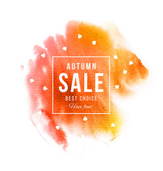 autumn sale best choice have fun banner vector image