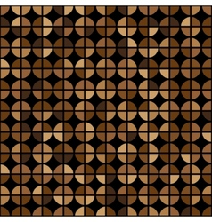 Coffee Colors Rings Diagram Seamless Pattern vector
