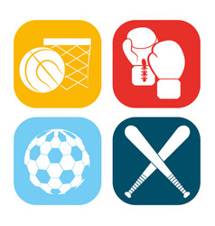 color games balls background icon vector image