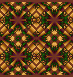Elegant seamless pattern of stained glass or vector