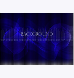 many fine lines on a blue background vector image