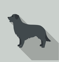 retriever icon in flat style for web vector image