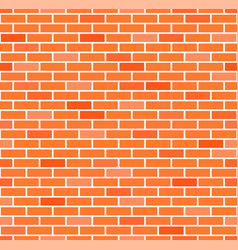 seamless brick wall background eps10 vector image