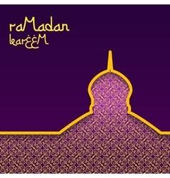 Template design concept background for ramadan vector