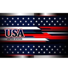 american flag color backgrounds vector image vector image