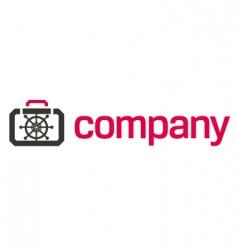 bank safe logo security vector image vector image