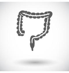 Intestines icon vector image vector image
