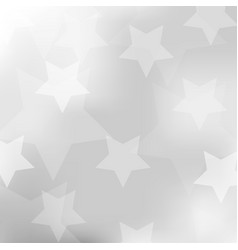abstract gray background with star vector image