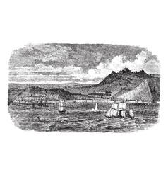 Dover vintage engraving vector image