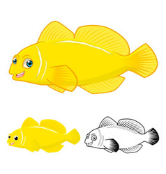 Goby Fish vector