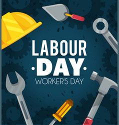 Labour day celebration to freedom holiday vector