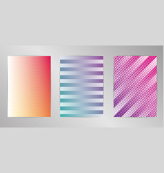 minimal cover design background set a4 format vector image
