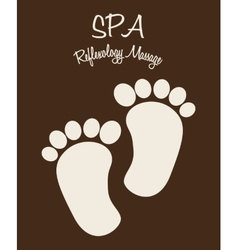 Spa therapy design vector