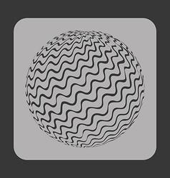 Sphere icon vector