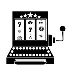 gambling games design vector image vector image