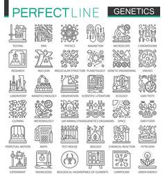 Genetic engineering and biochemistry outline mini vector