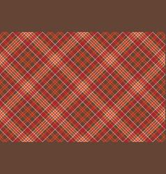 warm color diagonal check square pixel seamless vector image vector image
