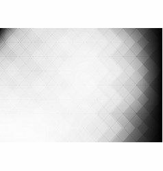 abstract gray grid mosaic background vector image