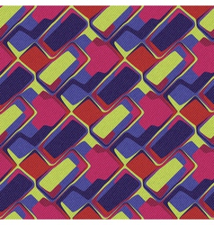 bricks ornament vector image vector image