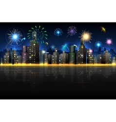 City in Celebration vector