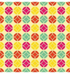 Colorful vintage pattern vector image vector image
