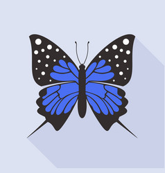 flat butterfly8 vector image