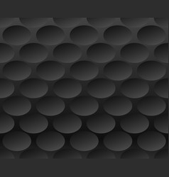 grayscale monochrome pattern with ellipse oval vector image