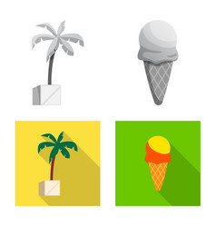 isolated object of pool and swimming logo set of vector image