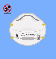protective face mask design vector image