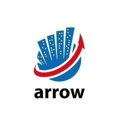 logo arrow vector image vector image