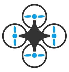 Air copter icon vector