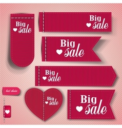 Set of bubbles stickers labels tags big sale vector
