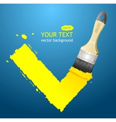check vector image