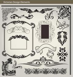 Victorian Elements1 vector image
