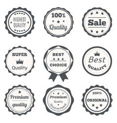 vintage badges Best choice premium quality highest vector image