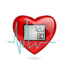 blood pressure vector image