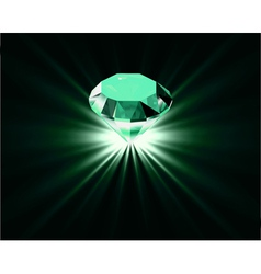 Bright diamond vector