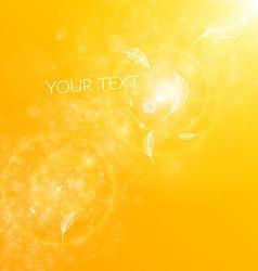 Bright Yellow Summer vector