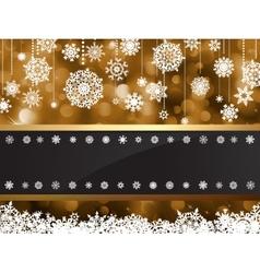 Gold elegant christmas background EPS 8 vector