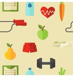 Healthy lifestyle wellness concept vector