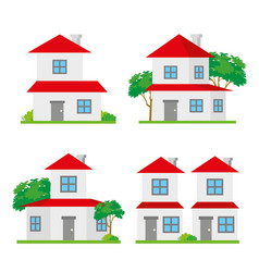 House home family building architecture vector