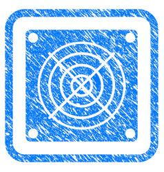 Mining asic device framed stamp vector