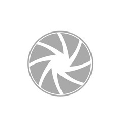 Photography logo design template vector