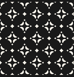 Seamless pattern with diamond shapes stars vector