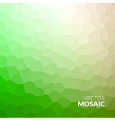 Abstract colorful voronoi mosaic wallpaper texture vector image vector image