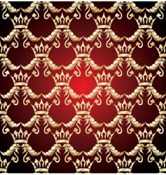 crown seamless vector image